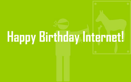 Happy Birthday Internet