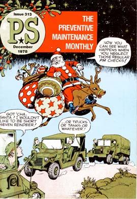 Preventative Maintenance Monthly